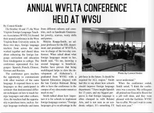 WVSU interview